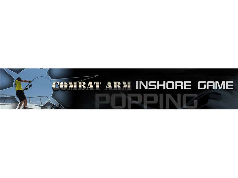 CENTAUR COMBAT ARM POPPING INSHORE GAME ROD